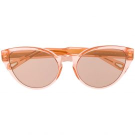 Chloé Eyewear cat-eye frame sunglasses - Pink