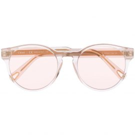 Chloé Eyewear cat eye sunglasses - White