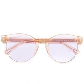Chloé Eyewear round frame sunglasses - Neutrals