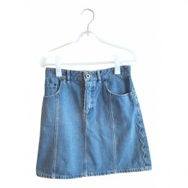 Chloé N Blue Denim - Jeans Skirt for Women