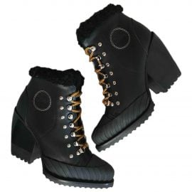 Chloé Rylee leather snow boots