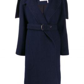 Chloé belted waist coat - Blue
