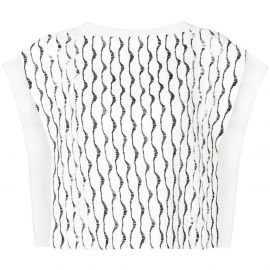 Chloé embroidered top - White