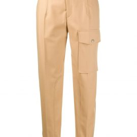 Chloé tapered cargo trousers - Neutrals