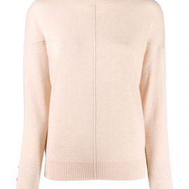 Chloé turtleneck ruffle sweater - PINK