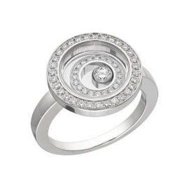 Chopard Happy Spirit White Gold Diamond Ring
