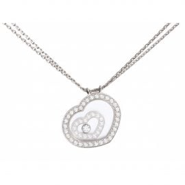 Chopard White gold Necklaces