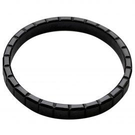 Chopard black Steel Rings