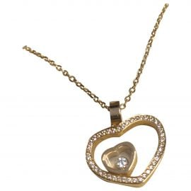 Chopard gold Gold plated Pendants