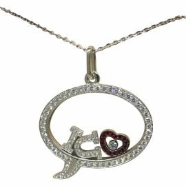 Chopard gold White gold Necklaces