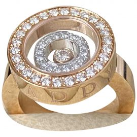 Chopard pink Pink gold Rings