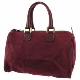 Christian Dior Leather travel bag