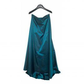 Christian Dior Silk maxi skirt
