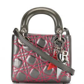 Christian Dior pre-owned Limited Edition Anselm Reyl mini 2way handbag - Grey