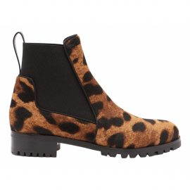 Christian Louboutin N Brown Pony-style calfskin Ankle boots for Women