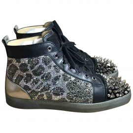 Christian Louboutin N Multicolour Leather Trainers for Men