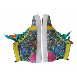 Christian Louboutin N Multicolour Leather Trainers for Women