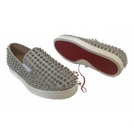 Christian Louboutin Roller Boat leather trainers