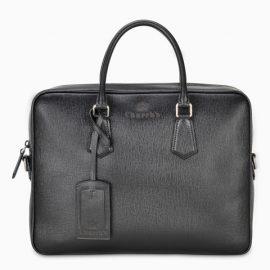 Church's Black Craven laptop bag