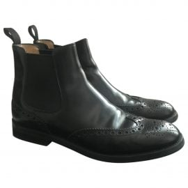 Church's N Black Leather Ankle boots for Women