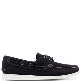 Church's two-tone boat shoes - Blue