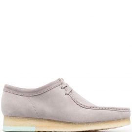 Clarks Originals lace-up suede boat shoes - Grey