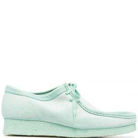 Clarks Originals square toe boat shoes - Green