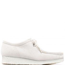 Clarks Originals square toe boat shoes - Neutrals