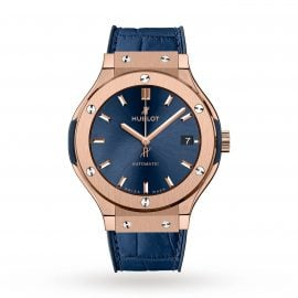 Classic Fusion Blue King Gold 38mm