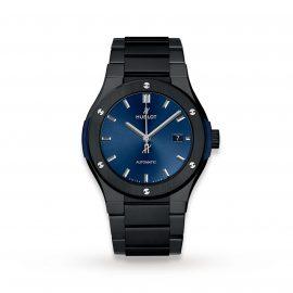 Classic Fusion Ceramic Blue Bracelet 42mm