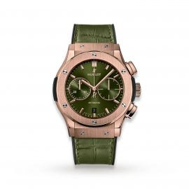 Classic Fusion Chronograph King Gold Green 45mm