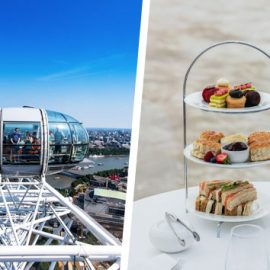Coca Cola London Eye for Two and Bateaux Afternoon Tea Cruise