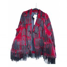 Comme Des Garcons Silk cape