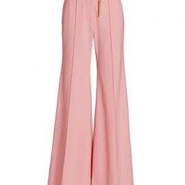 Concert Flare Crepe Trousers