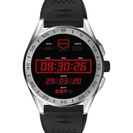 Connected Modular Ceramic, Stainless Steel & Rubber Strap Smartwatch