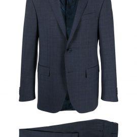 Corneliani two-piece virgin wool suit - Blue