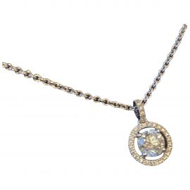 De Beers White gold pendant