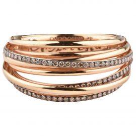De Grisogono Allegra pink gold bracelet