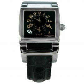 De Grisogono N Silver Steel Watch for Men