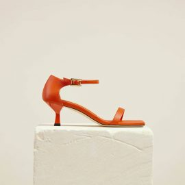 Dear Frances - Mid Heel All Day Summer Heels With Slender Straps