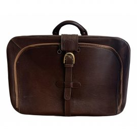 Delvaux Leather travel bag