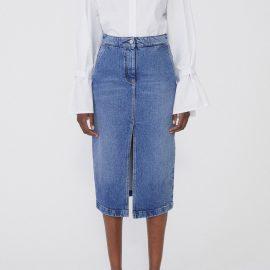 Demi Denim Skirt - medium blue