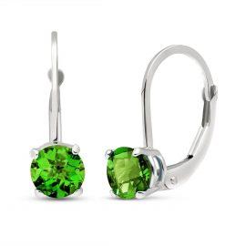 Diamond Boston Drop Earrings 1 ctw in 9ct White Gold