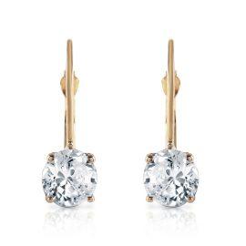 Diamond Drop Earrings 1 ctw in 9ct Gold