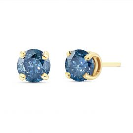 Diamond Stud Earrings 1 ctw in 9ct Gold