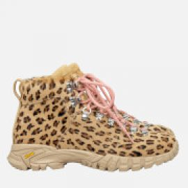 Diemme Women's Maser Haircalf Hiking Style Boots - Leopard