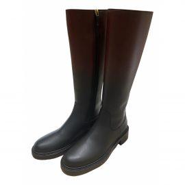 Dior Diorider leather wellington boots