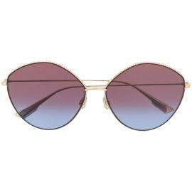 Dior Eyewear round tinted glasses - Gold