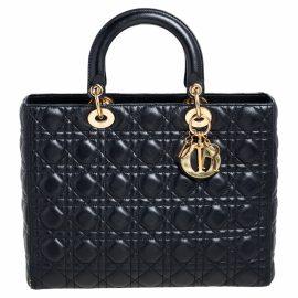 Dior Leather travel bag