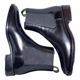 Dior N Black Leather Ankle boots for Women